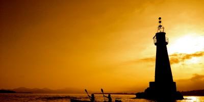 Couche de soleil Kayak Evasion Cannes Golfe Juan1